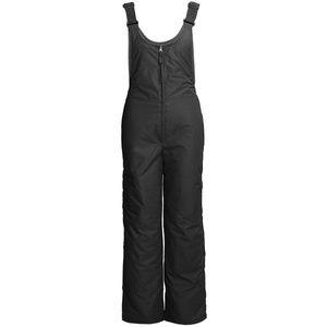 White Sierra Women Insulated Snow Bib Pants Small